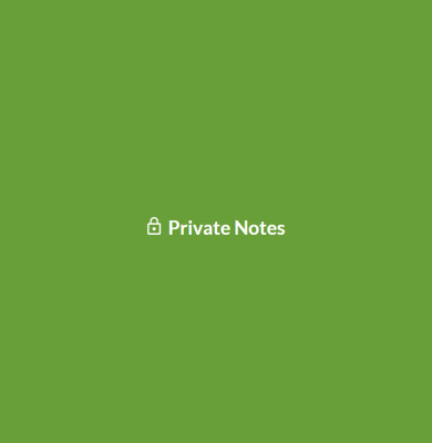 Private Notes Web App